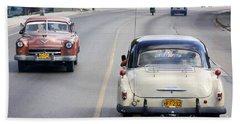 Cuba Road Beach Towel