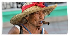 Cuban Lady Beach Towel