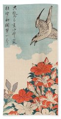 Cuckoo And Azaleas Beach Towel