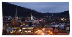 Cumberland At Night Beach Towel by Jeannette Hunt