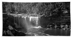 Cumberland Falls Five Bw Beach Sheet
