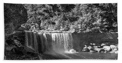 Cumberland Falls Six Bw Beach Sheet