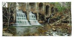 Cumberland Waterfall Beach Sheet by Debbie Green