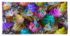 Cupcake Galore Beach Towel