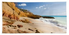 Cupecoy Beach Sint Maarten Beach Towel