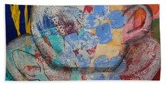 Cuppa Luv Beach Towel by Robin Maria Pedrero