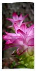 Curcuma Beach Towel by Debra Forand