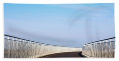 Curved Bridge Beach Towel