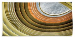 Curving Ceiling Beach Towel