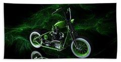 Custom Green Bobber Beach Sheet