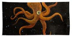 Cycloptopus Black Beach Towel