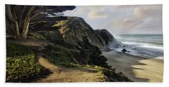 Cypress Beach Beach Towel