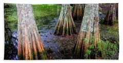 Cypress Waltz Beach Towel