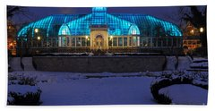 D5l-291 Franklin Park Conservatory Photo Beach Towel