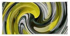 Daffodil Swirl Beach Sheet