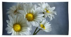 Beach Towel featuring the photograph Daisy Bouquet by Ann Lauwers