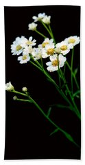 Daisy Flower Bouquet  Beach Sheet