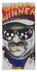 Dale Earnhardt Sr Beach Towel