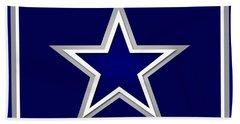 Dallas Cowboys Beach Sheet