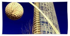 Dallas Museum Tower Beach Towel