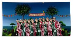 Dance Competition Beach Towel