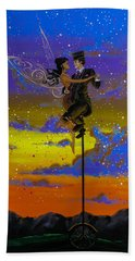 Dance Enchanted Beach Towel