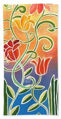 Dance With Me Beach Towel by Linda Bailey