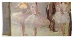 Dancers In The Wings At The Opera Beach Towel