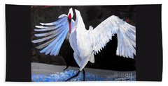 Dancing Crane Beach Towel