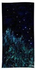 Dancing Fireflies Beach Towel
