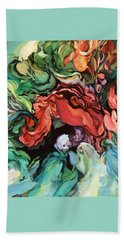 Dancing For Joy - Original Artwork - Paintings Beach Towel