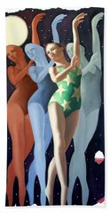 Dancing In The Moonlight Beach Sheet