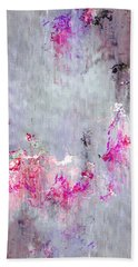 Dancing In The Rain - Abstract Art Beach Towel