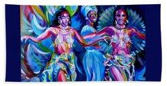 Dancing Panama Beach Sheet