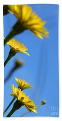 Dancing With The Flowers Beach Towel by Andrea Anderegg