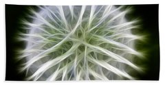 Dandelion Abstract Beach Towel