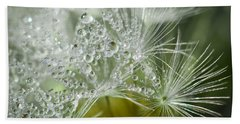 Dandelion Dew Beach Sheet