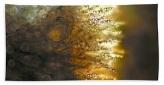Dandelion Shine Beach Towel by Peggy Collins