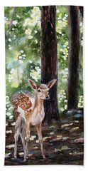 Dappled Innocence Beach Towel
