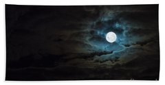 Dark Rising Beach Towel