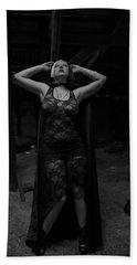 Dark Witch's Yearning Beach Towel
