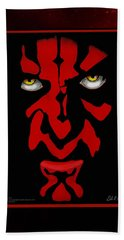 Darth Maul Beach Towel