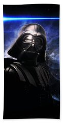 Aaron Berg Photography Beach Towel featuring the photograph Darth Vader by Aaron Berg