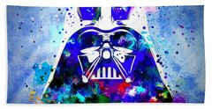 Darth Vader Star Wars Beach Towel by Daniel Janda