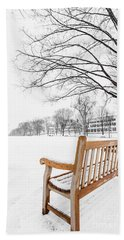 Dartmouth Winter Wonderland Beach Towel