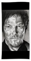 Daryl Dixon - The Walking Dead Beach Sheet