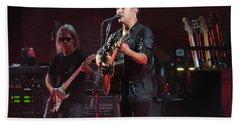 Dave Matthews Live Beach Towel by Aaron Martens
