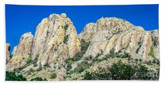 Davis Mountains Of S W Texas Beach Towel
