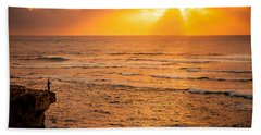 Dawn Fisherman Beach Sheet