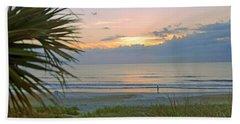Dawn On Ormond Beach Beach Towel